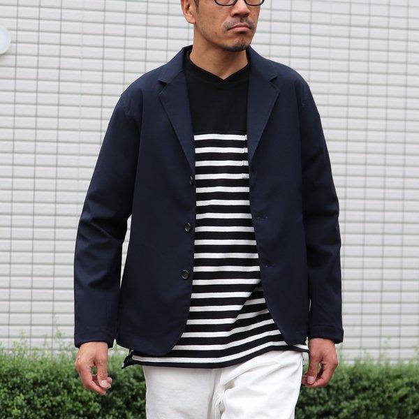 画像2: ギャバジンストレッチ リラックステーラードジャケット【MADE IN JAPAN】『日本製』 / Upscape Audience
