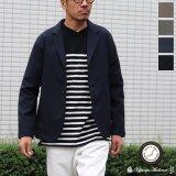 ギャバジンストレッチ リラックステーラードジャケット【MADE IN JAPAN】『日本製』 / Upscape Audience