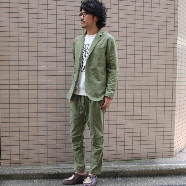 画像2: ヴィンテージナイロンオックスイージーアンクルパンツ【MADE IN JAPAN】『日本製』【送料無料】  / Upscape Audience
