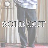 赤耳(セルヴィッチ)ブラックデニム ワンウォッシュ ユーティリティ パンツ【MADE IN JAPAN】『日本製』【送料無料】/ Upscape Audience