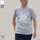 "6.2オンス丸胴BODY UCLA""FOOTBALLオールドプリント""TEE / Audience"