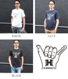 "More photos2: 6.2oz丸胴HAWAII""HAND""オールドプリントTEE / Audience"