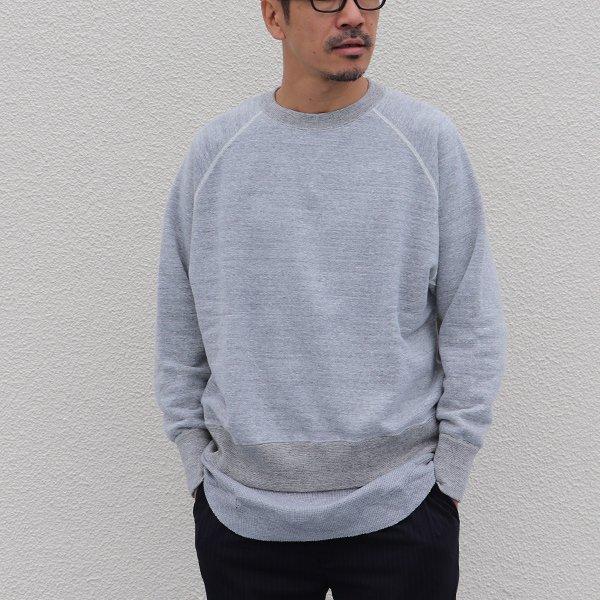 画像2: 19/7吊編裏毛 ラグランスウェット【MADE IN TOKYO】『東京製』【送料無料】/ Upscape Audience