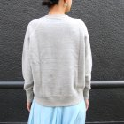 More photos3: 19/7吊編裏毛 ラグランスウェット[Lady's]【MADE IN TOKYO】『東京製』/ Upscape Audience