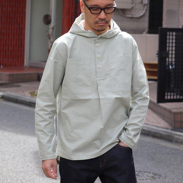 画像2: コットンクロス アノラックパーカーシャツ【MADE IN JAPAN】『日本製』/ Upscape Audience
