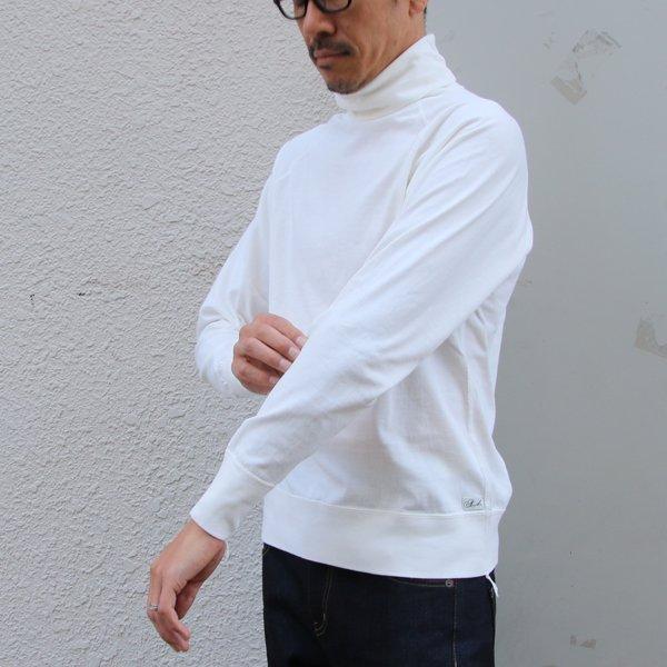 画像2: 吊り編み天竺 ラグランタートルネック L/S Tee【MADE IN TOKYO】『東京製』/ Upscape Audience