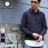 ドライファーストコットン鹿の子L/Sポロ【MADE IN JAPAN】『日本製』 / Upscape Audience