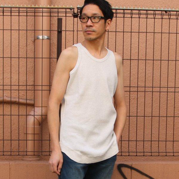 画像2: 度詰ワッフル  ロングタンクトップ【MADE IN JAPAN】『日本製』/ Upscape Audience【一部ご予約・5月上旬頃】