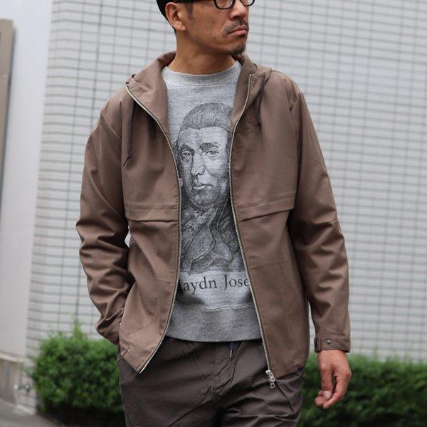 画像2: 19/7吊編裏毛 Haydn Joseph プリント ラグランスウェット【MADE IN TOKYO】『東京製』/ Upscape Audience