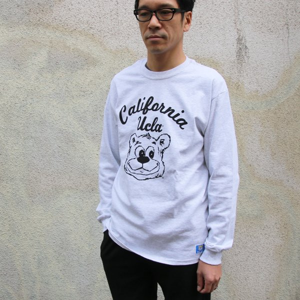 "画像2: UCLA""California BERA"" 6oz米綿丸胴L/S Tee/ Audience"