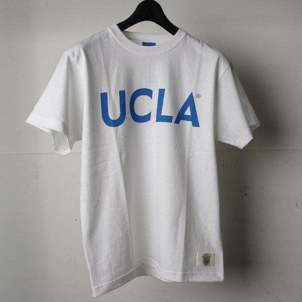 """画像2: 6.2oz丸胴UCLA""""UCLA SIMPLE LOGO""""オールドプリントTEE / Audience"""