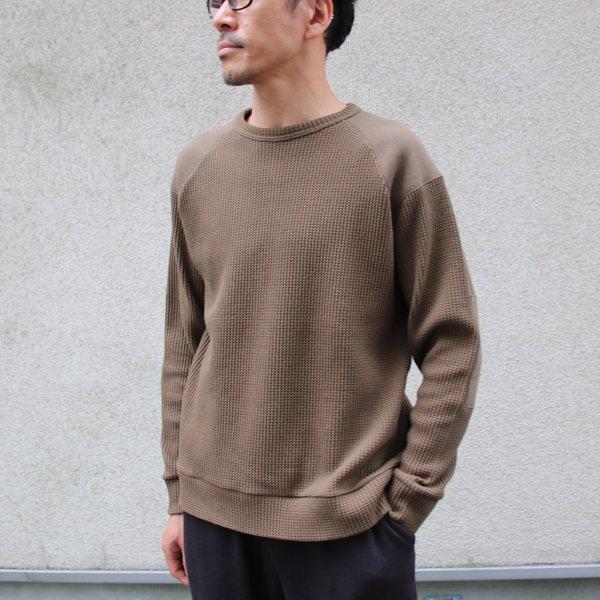 画像2: ビッグワッフル コマンドセーター【MADE IN JAPAN】『日本製』 / Upscape Audience【ご予約・10月中旬予定】