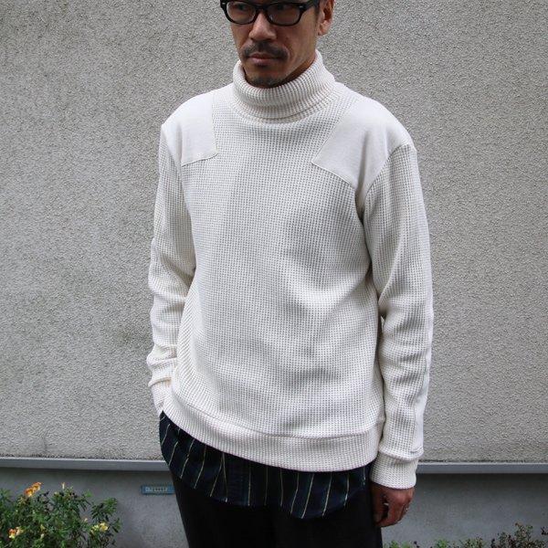 画像2: ビッグワッフル コマンドタートルネックセーター【MADE IN JAPAN】『日本製』 / Upscape Audience