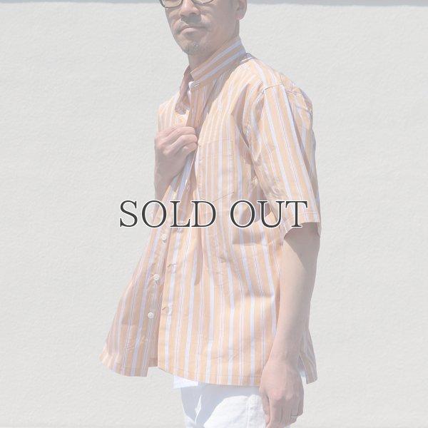 画像2: レジメンタルスタンドスモールカラー ハーフスリーブシャツ【MADE IN JAPAN】『日本製』/ Upscape Audience