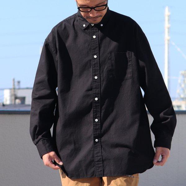 画像2:  6オンス オックスフォード ボタンダウン 長袖 ボクシーシャツ【MADE IN JAPAN】『日本製』/ Upscape Audience【一部ご予約・2021年6月上旬入荷予定】