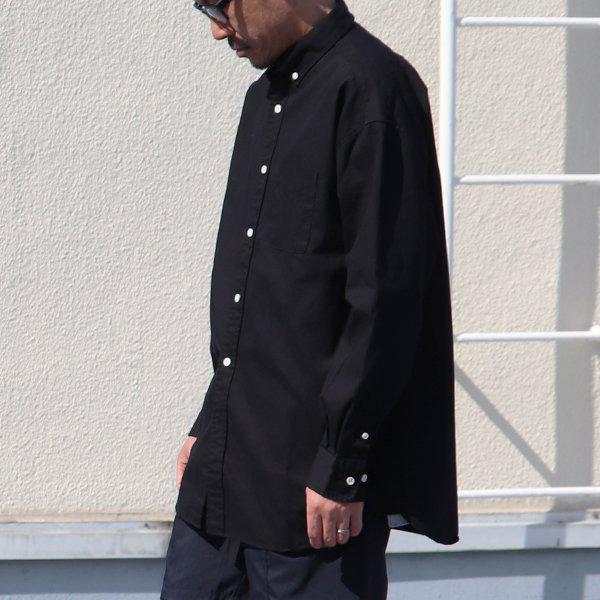 画像2:  6オンス オックスフォード ボタンダウン 長袖 ボクシーシャツ【MADE IN JAPAN】『日本製』/ Upscape Audience