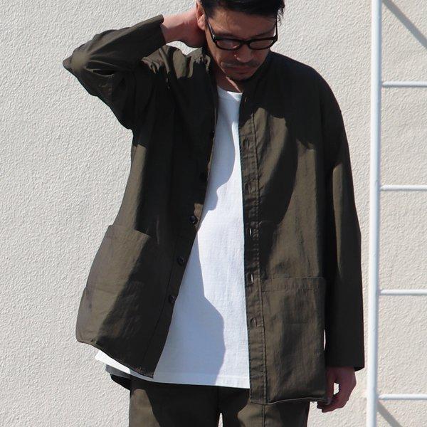 画像2: グリストーンW コットンナイロン高密度ギャバ ガーデニングコート『MADE IN JAPAN』『日本製』【送料無料】Upscape Audience【一部ご予約・8月下旬頃入荷予定】
