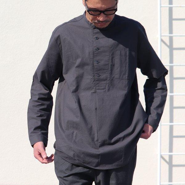 画像2: コットンシーチングクロス コックオーバーシャツ【MADE IN JAPAN】『日本製』/ Upscape Audience