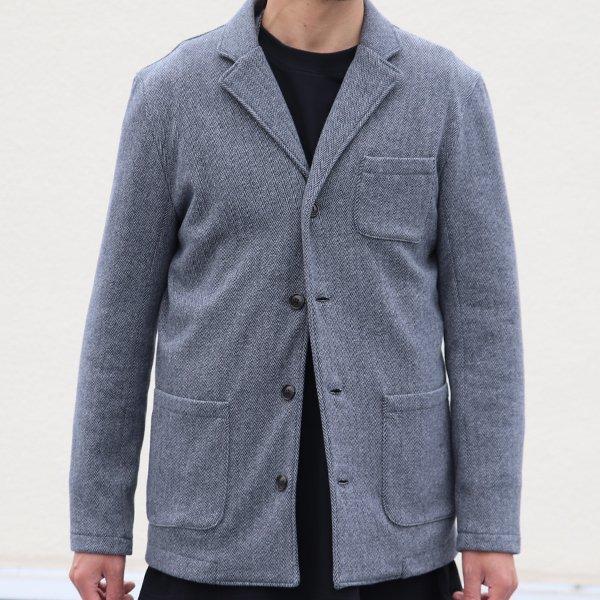 画像2: 【ボンバーヒート】爆暖Tweed裏起毛 4ボタンジャケット【MADE IN JAPAN】『日本製』 / Upscape Audience
