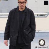 グリストーンW コットンナイロン高密度ギャバ Wテーラードジャケット『MADE IN JAPAN』『日本製』【送料無料】Upscape Audience