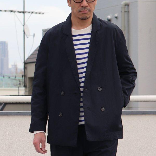画像2: グリストーンW コットンナイロン高密度ギャバ Wテーラードジャケット『MADE IN JAPAN』『日本製』【送料無料】Upscape Audience【ご予約・2021年3月下旬〜4月上旬頃入荷予定】