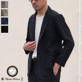 綿麻ビンテージソフトキャンバス 2釦 サックジャケット【MADE IN JAPAN】『日本製』【送料無料】 / Upscape Audience