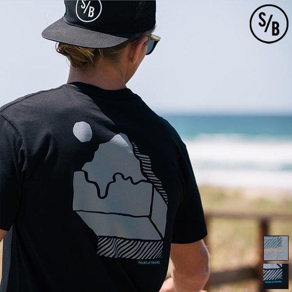 """画像1: """"MOUNTAINS"""" 半袖Tシャツ / SURF/BRAND"""