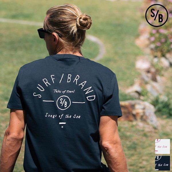"""画像1: """"TRAVEL"""" 半袖Tシャツ / SURF/BRAND"""