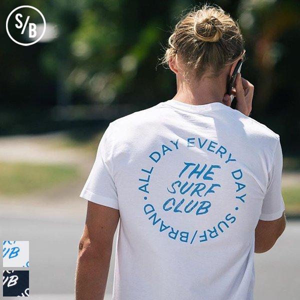 """画像1: """"CLUB"""" 半袖Tシャツ / SURF/BRAND"""