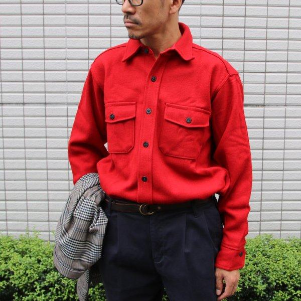 画像2: MELTON COMPANY (メルトンカンパニー) CP0ウールチェックシャツ【MADE IN U.S.A】『米国製』/ デッドストック