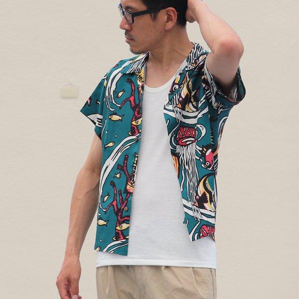 画像2: Pineapple Juice(パイナップルジュース)アロハシャツ【MADE IN U.S.A】『米国製』/デッドストック