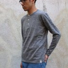 More photos1: Riding High / LOOPWHEEL HENLEY L/S T-SHIRTS【MADE IN JAPAN】『日本製』