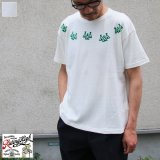 Riding High / CULTURE FLOCKY PRINT S/S TEE(TIPI TENT)【MADE IN JAPAN】『日本製』