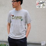 Riding High / HANDLE EMBROIDERY S/S TEE(CAMP)【MADE IN JAPAN】『日本製』