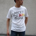 More photos1: Riding High / HANDLE EMBROIDERY S/S TEE(NICE)【MADE IN JAPAN】『日本製』