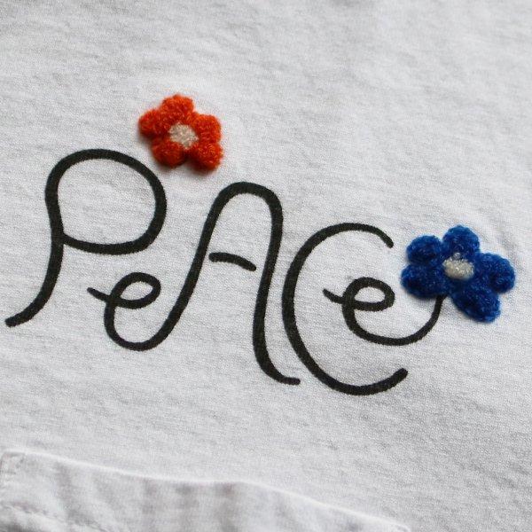 画像5:  Riding High / P&E COMBI S/S TEE(PEACE)【MADE IN JAPAN】『日本製』