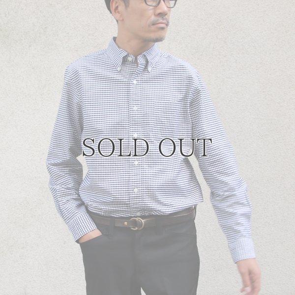 画像2: SONTAKU【ソンタク】/ 洗いざらしオックスフォードギンガムBDシャツ(893HD99250)【MADE IN JAPAN】『日本製』