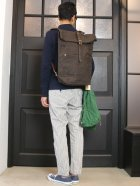 More photos1: CANVAS×LEATHER ROLLTOP Rucksack[VS-205P]【MADE IN JAPAN】『日本製』【送料無料】  / vasco【ご予約:10月上旬〜中旬予定】
