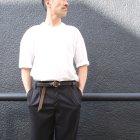 More photos3: レザーリングベルト-Narrow-(VS-601)【MADE IN JAPAN】『日本製』 / vasco(ご予約・8月下旬〜9月上旬予定)