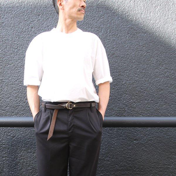 画像2: レザーリングベルト-Narrow-【MADE IN JAPAN】『日本製』 / vasco【一部ご予約:2月中旬〜下旬頃入荷予定】