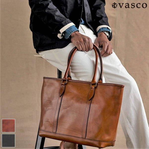 画像1: LEATHER NELSON TOTE BAG 【MADE IN JAPAN】『日本製』【送料無料】 / VASCO