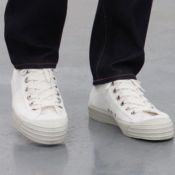 画像2: DEAD STOCK / Czech Army Hi Cut Canvas Sneaker-White-(チェコ軍 ハイカットキャンバススニーカー/White)