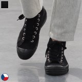 DEAD STOCK / Czech Army Hi Cut Canvas Sneaker-Black-(チェコ軍 ミリタリートレーナーシューズ/Black)