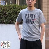 Riding High  16/- JERSEY P&E S/S TEE(E.BIRD)【MADE IN JAPAN】『日本製』