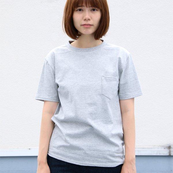 画像2: USAファブリック丸胴国産ポケットTEE [Lady's] 【FABRIC MADE IN USA】【ASSEMBLED IN JAPAN】『日本製』