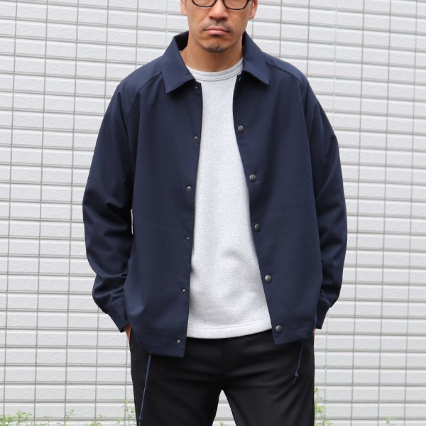 画像2: ギャバジンストレッチ コーチジャケット【MADE IN JAPAN】 『日本製』【送料無料】  / Upscape Audience