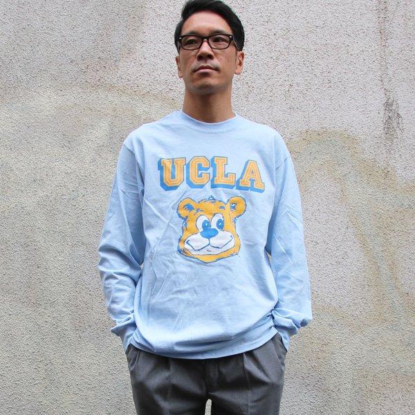 """画像2: UCLA""""UCLA BERA"""" 6oz米綿丸胴L/S Tee/ Audience【2019年2月中旬頃入荷】"""