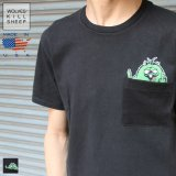 WKS SHEEP FUZZY DUDE POCKET Tシャツ【MADE IN U.S.A】『米国製』 / WOLVES KILL SHEEP