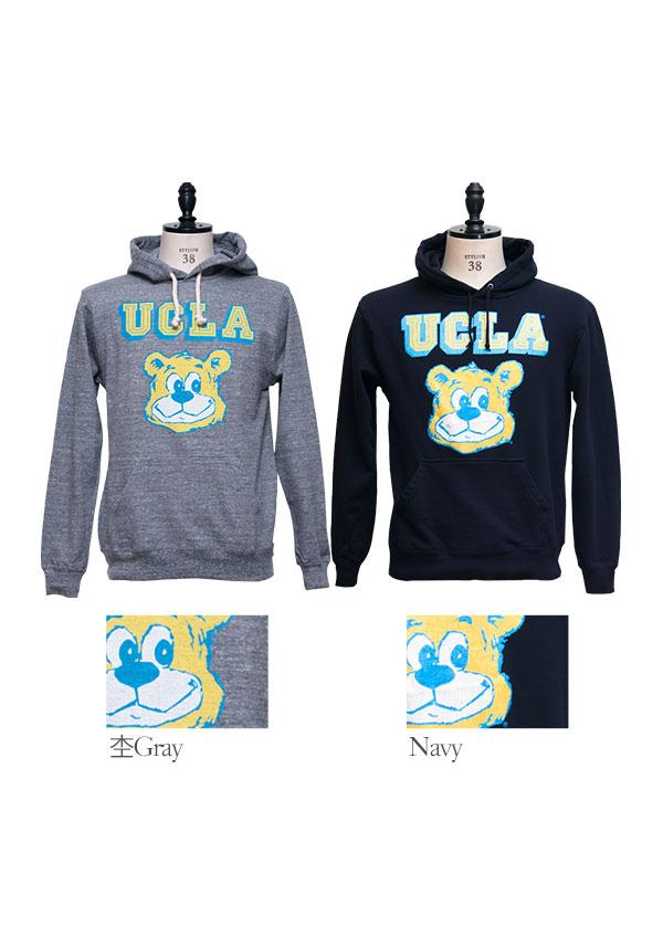 ucla ucla bear フーデッドライトパーカー audience audience