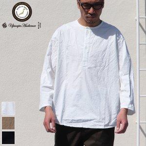 画像: 馬布ヴィンテージフィニッシュクルーネックスリーピングシャツ【MADE IN JAPAN】『日本製』/ Upscape Audience
